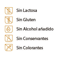 Productos sin gluten ni lactosa para la tos